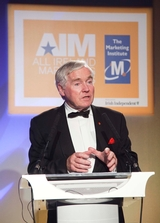 Senator Feargal Quinn, 2009 All Ireland Marketing Champion