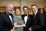 Jarlath Jennings, MII; Paula Murphy, Vodafone; Geoff Lyons, Irish Independent and Geoff McGrath, RMG Target
