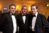 Jonathan O'Flynn and Nicky Doran, Bord Gáis Energy; with John Boyle, Ulster Bank