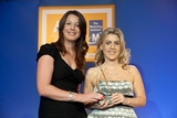 Amie Peters, An Post, sponsor of the Direct Marketing Award, with award winner, Catherine McGrath, Meteor
