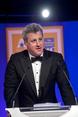 Patrick Kennedy, CEO Paddy Power Plc, recipient of the All Ireland Marketing Champion Award 2010