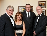 Denis, O'Brien; Alison Cowzer, Michael Carey and John Murray
