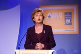 President Mary McAleese addresses the All Ireland Marketing Awards