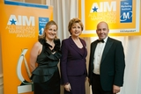 President Mary McAleese with Marketing Institute of Ireland board members, Maria Mahon and Damian Devaney