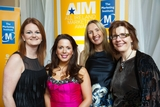 Tracy Atherton; Vanessa Hartley; Emer Carty and Cathy Summers, Aviva