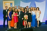 Vanessa Hartley, Aviva (sponsor of the Marketing Team of the Year Award) with award winners, O2 Ireland