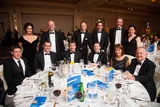 Liam Casey and guests at the PCH International table
