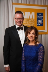 Michael Carey, Chairman of the Board, Marketing Institute of Ireland with Alison Cowzer, Director, The Company of Food
