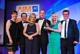 Cathy Summers, Aviva (sponsor of the Direct Marketing Award) with award winners, SuperValu