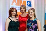 Lisa Browne, Trish Canty & Roisin Ryan, Electric Ireland, winners of the Sponsorship Management Award