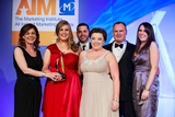 Lisa Comerford, Meteor (sponsor of the Brand Campaign of the Year Award), with award winners , McDonald's