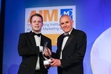 ichael Greer, Mintel Ireland (sponsor of the Market Research Award) with award winner,  Peter Nash, Tourism Ireland