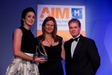 Aine Osborne, Carat (sponsor of the Digital Marketing Campaign Award) with award winners, Bank of Ireland
