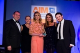 Michael Faley, Google (sponsor of the eCommerce Award), with award winners, 123.ie
