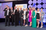 Conor Phillips, IBM (sponsor of the Marketing Team of the Year Award), with award winners, Musgrave SuperValu
