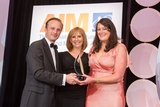 Matthias Wenk, Lidl (sponsor of the CRM  Customer Care Award) with award winners, Electric Ireland