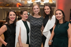 Michelle Maguire, Katy Walsh, Avril Collins, Linda Martin and Sophie Carey, Ireland's Blue Book