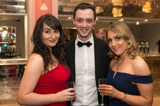 Breege Moyne, Brian Deegan, AIB and Denise Daniel, Vodafone