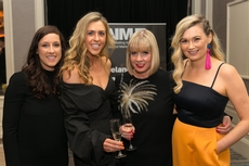 Simone Kelly, Jane Myron, Catherine Casserly and Belinda Kelly, Irish Distillers