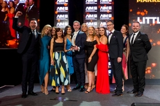 Cera Ward, Google ,sponsor of the Marketing Team of the Year Award, with award winners, Littlewoods