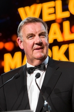 Bryan Dobson, MC, All Ireland Marketing Awards
